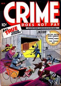Cover Thumbnail for Crime Does Not Pay (Lev Gleason, 1942 series) #31