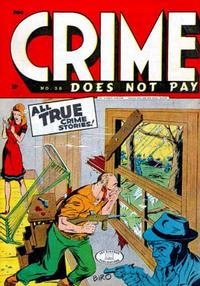 Cover Thumbnail for Crime Does Not Pay (Lev Gleason, 1942 series) #38