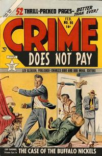 Cover Thumbnail for Crime Does Not Pay (Lev Gleason, 1942 series) #95
