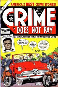 Cover Thumbnail for Crime Does Not Pay (Lev Gleason, 1942 series) #117