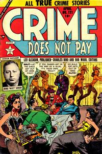 Cover Thumbnail for Crime Does Not Pay (Lev Gleason, 1942 series) #121