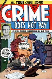 Cover Thumbnail for Crime Does Not Pay (Lev Gleason, 1942 series) #130