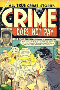 Cover Thumbnail for Crime Does Not Pay (Lev Gleason, 1942 series) #132