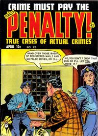 Cover Thumbnail for Crime Must Pay the Penalty (Ace Magazines, 1948 series) #25