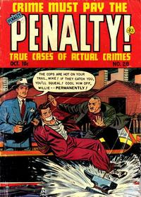Cover Thumbnail for Crime Must Pay the Penalty (Ace Magazines, 1948 series) #28