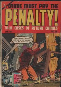 Cover Thumbnail for Crime Must Pay the Penalty (Ace Magazines, 1948 series) #36