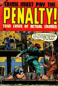 Cover Thumbnail for Crime Must Pay the Penalty (Ace Magazines, 1948 series) #38