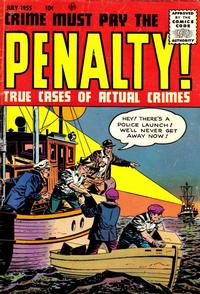 Cover Thumbnail for Crime Must Pay the Penalty (Ace Magazines, 1948 series) #46