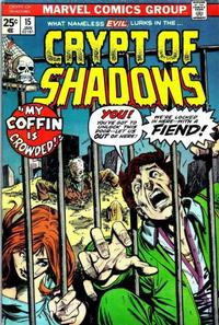 Cover Thumbnail for Crypt of Shadows (Marvel, 1973 series) #15