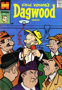 Cover Thumbnail for Chic Young's Dagwood Comics (Harvey, 1950 series) #86
