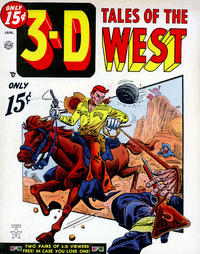 Cover for 3-D Tales of the West (1954 series) #1