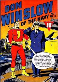 Cover Thumbnail for Don Winslow of the Navy (Fawcett, 1943 series) #1