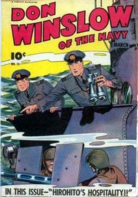 Cover Thumbnail for Don Winslow of the Navy (Fawcett, 1943 series) #13