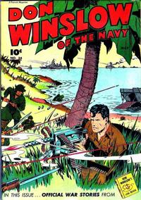 Cover Thumbnail for Don Winslow of the Navy (Fawcett, 1943 series) #34