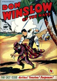 Cover Thumbnail for Don Winslow of the Navy (Fawcett, 1943 series) #56