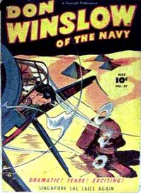 Cover Thumbnail for Don Winslow of the Navy (Fawcett, 1943 series) #57
