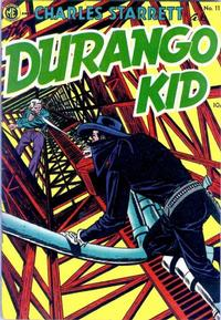 Cover Thumbnail for Charles Starrett as the Durango Kid (Magazine Enterprises, 1949 series) #11