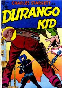 Cover Thumbnail for Charles Starrett as the Durango Kid (Magazine Enterprises, 1949 series) #14