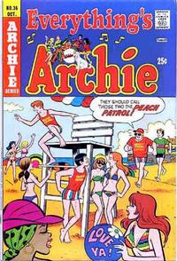 Cover Thumbnail for Everything's Archie (Archie, 1969 series) #36