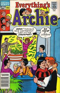 Cover Thumbnail for Everything's Archie (Archie, 1969 series) #128