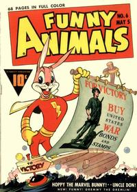 Cover Thumbnail for Fawcett's Funny Animals (Fawcett, 1942 series) #6