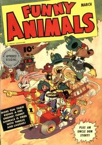 Cover Thumbnail for Fawcett's Funny Animals (Fawcett, 1942 series) #16