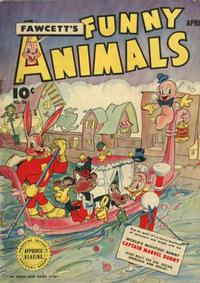 Cover Thumbnail for Fawcett's Funny Animals (Fawcett, 1942 series) #28