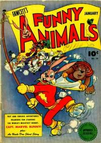 Cover Thumbnail for Fawcett's Funny Animals (Fawcett, 1942 series) #34