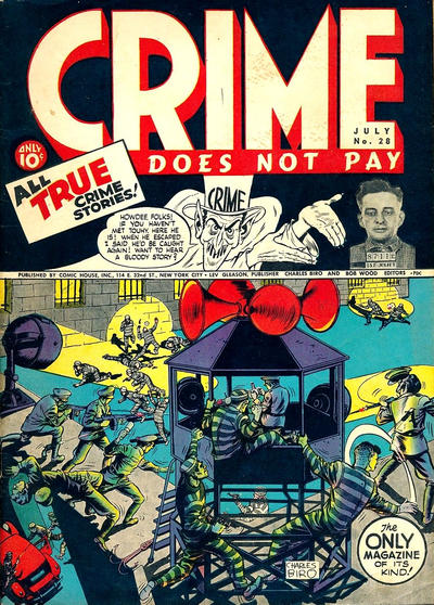 Cover for Crime Does Not Pay (Lev Gleason, 1942 series) #28