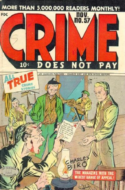 Cover for Crime Does Not Pay (1942 series) #57