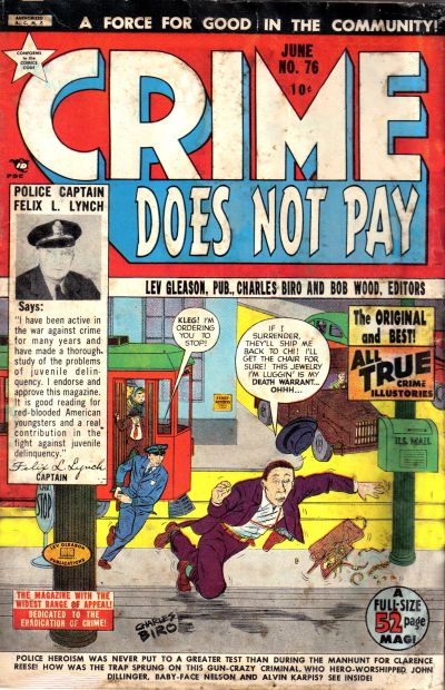 Cover for Crime Does Not Pay (Lev Gleason, 1942 series) #76
