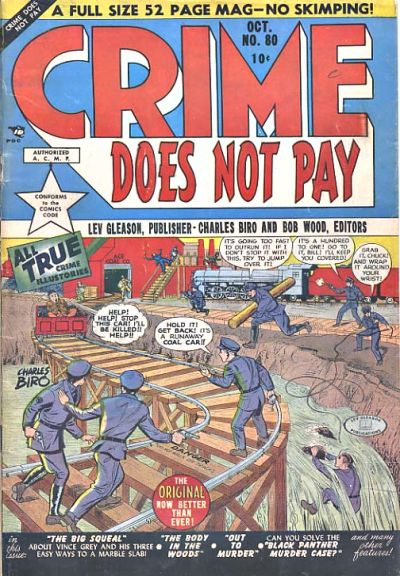 Cover for Crime Does Not Pay (Lev Gleason, 1942 series) #80
