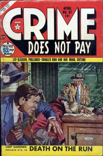 Cover for Crime Does Not Pay (Lev Gleason, 1942 series) #97