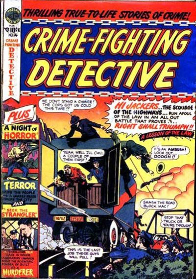 Cover for Crime Fighting Detective (Star Publications, 1950 series) #14