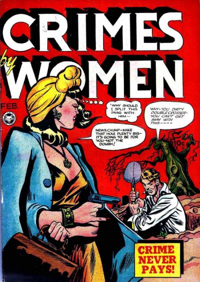 Cover for Crimes by Women (Fox, 1948 series) #5