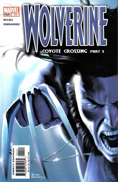 Cover for Wolverine (2003 series) #11 [Direct Edition]