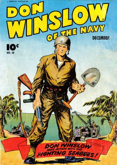 Cover for Don Winslow of the Navy (Fawcett, 1943 series) #10