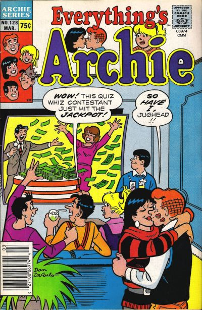 Cover for Everything's Archie (Archie, 1969 series) #128