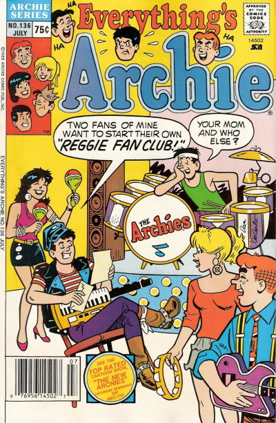 Cover for Everything's Archie (Archie, 1969 series) #136