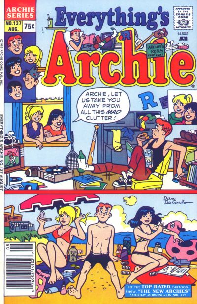 Cover for Everything's Archie (Archie, 1969 series) #137