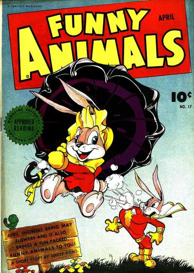 Cover for Fawcett's Funny Animals (Fawcett, 1942 series) #17
