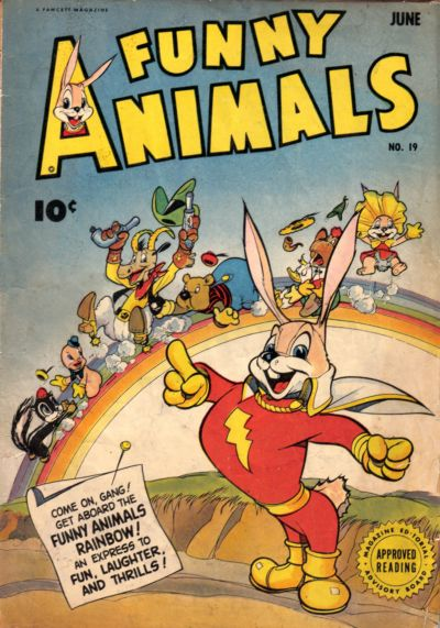 Cover for Fawcett's Funny Animals (Fawcett, 1942 series) #19