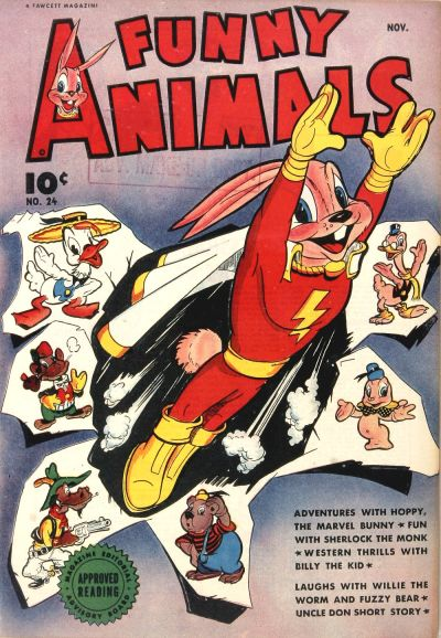 Cover for Fawcett's Funny Animals (1942 series) #24