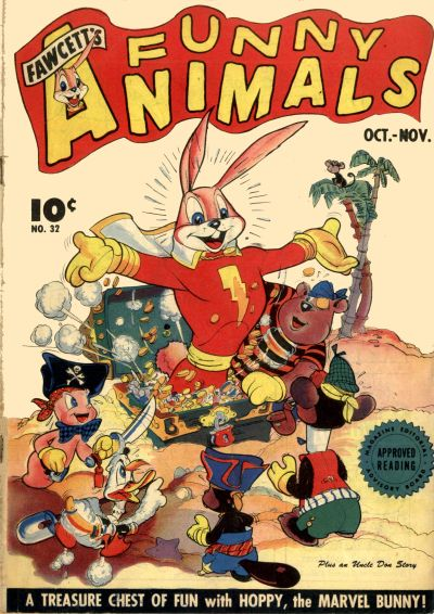 Cover for Fawcett&#39;s Funny Animals (1942 series) #32