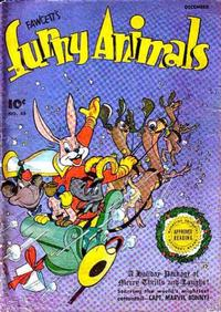 Cover Thumbnail for Fawcett's Funny Animals (Fawcett, 1942 series) #45