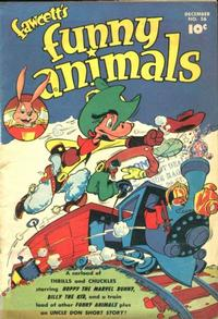 Cover Thumbnail for Fawcett's Funny Animals (Fawcett, 1942 series) #56