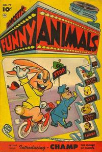 Cover Thumbnail for Fawcett's Funny Animals (Fawcett, 1942 series) #77