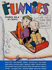 Cover Thumbnail for The Funnies (Dell, 1936 series) #6