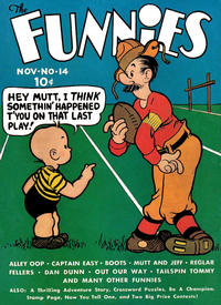 Cover Thumbnail for The Funnies (Dell, 1936 series) #14