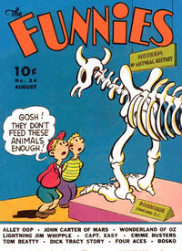 Cover Thumbnail for The Funnies (Dell, 1936 series) #34